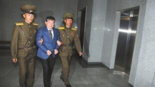 被朝鲜最高法院判处10年劳教的美国人
