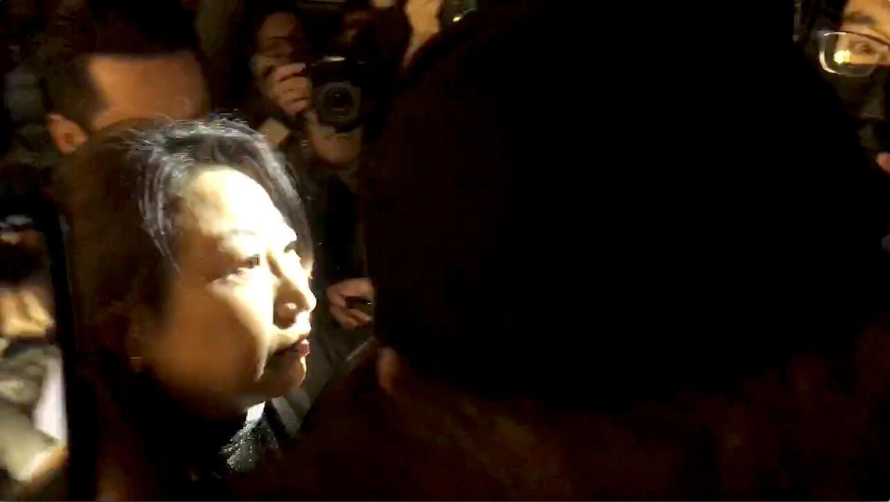 Bà Trịnh Nhược Hoa, lãnh đạo Tư Pháp đặc khu hành chính Hồng Kông, tại Luân Đôn ngày 14/11/2019.