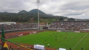 Le stade de Limbé, au Cameroun.