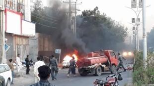 حمله انفجاری در مرکز شهر هرات رخ داده است. چهارشنبه ۷ شهریور/ ٢٩ اوت ٢٠۱٨
