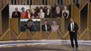 В ночь на 1 марта в США вручили призы кинопремии «Золотой глобус». Из-за пандемии коронавируса церемония прошла в формате видеоконференции.