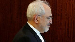 Le ministre des Affaires étrangères iranien, Javad Zarif, à New York, le 17 juillet 2017.