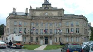 City hall of Alençon, Normandy.
