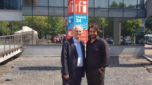 Jacques Attali et Tarek Kai.