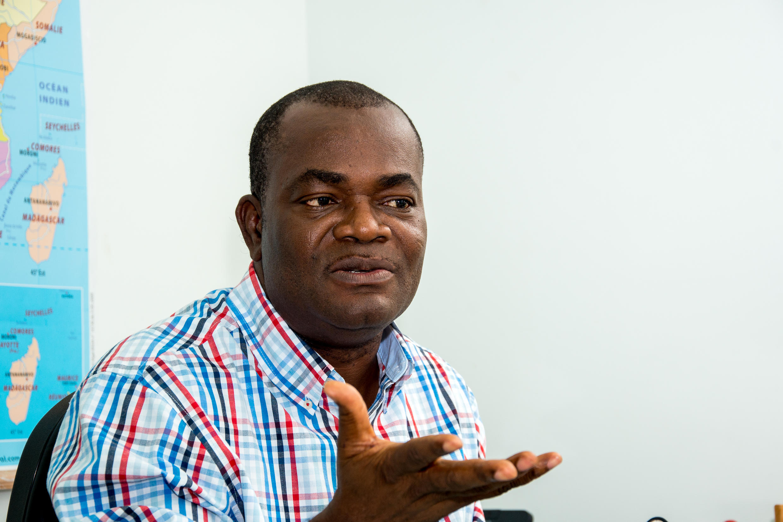 Mathias Hounkpè, politologue et membre de la fondation Open Society, OSIWA.