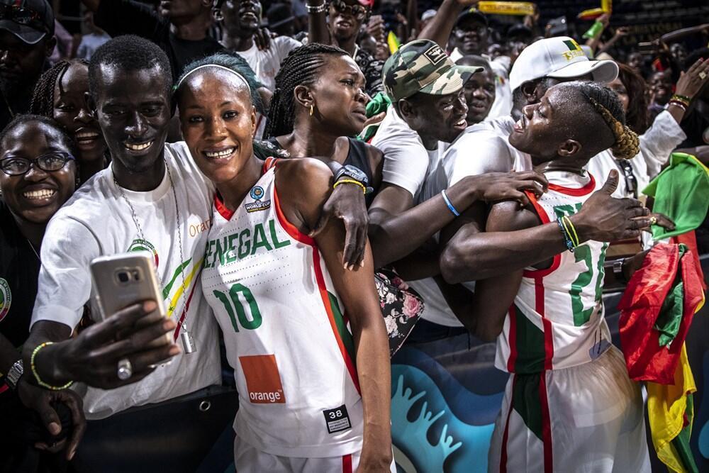 Les Sénégalaises ont battu les Lettones dimanche 23 septembre en match de poule du Mondial de basket féminin.