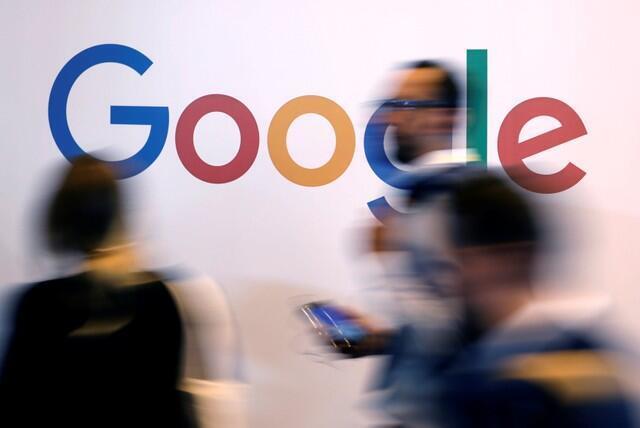 រូបសញ្ញារបស់ Google ត្រូវបានបង្ហាញក្នុងអំឡុងពេលកិច្ចប្រជុំ Viva Tech និងកិច្ចប្រជុំកំពូលបច្ចេកវិទ្យានៅទីក្រុងប៉ារីសប្រទេសបារាំងនាថ្ងៃទី ២៥ ខែឧសភាឆ្នាំ ២០១៨