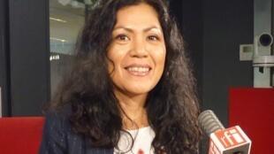 Lissell Quiroz en RFI