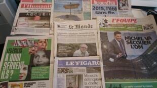 Diários franceses20/08/2015