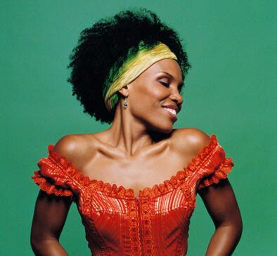 Cape Verdean singer Lura
