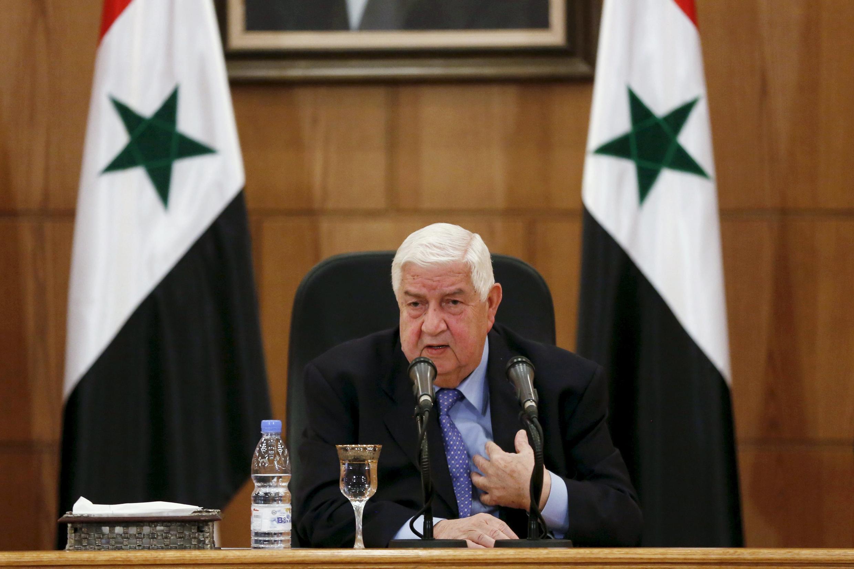 ولید معلم، وزیر امورخارجه حکومت سوریه