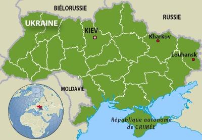 L'Ukraine.