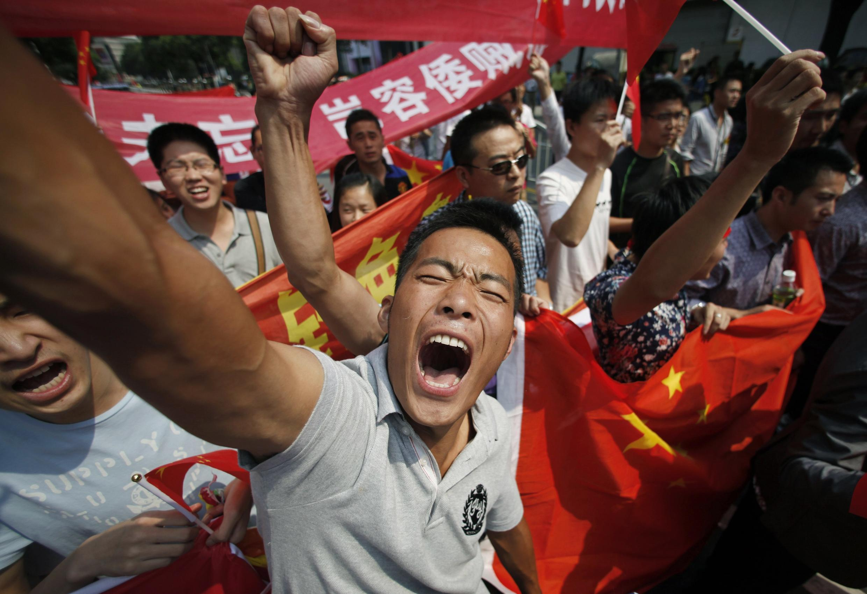 No aniversário de 81 anos da invasão da Manchúria pelo Japão, os chineses voltaram às ruas em manifestações antijaponesas.