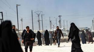 Syrie camp  al-Hol Kurdes Etat islamique