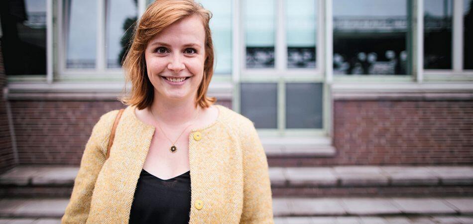 德国议会最年轻的女议员Gyde Jensen,同时是议会人权主席
