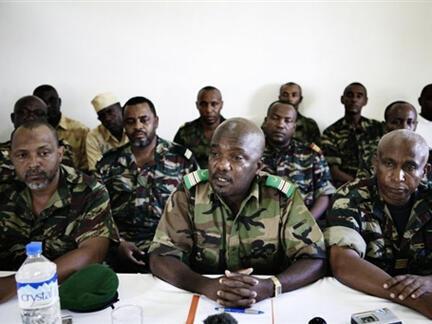 Le général Mohamed Amiri Salimou, en 2008  à  Fombini.