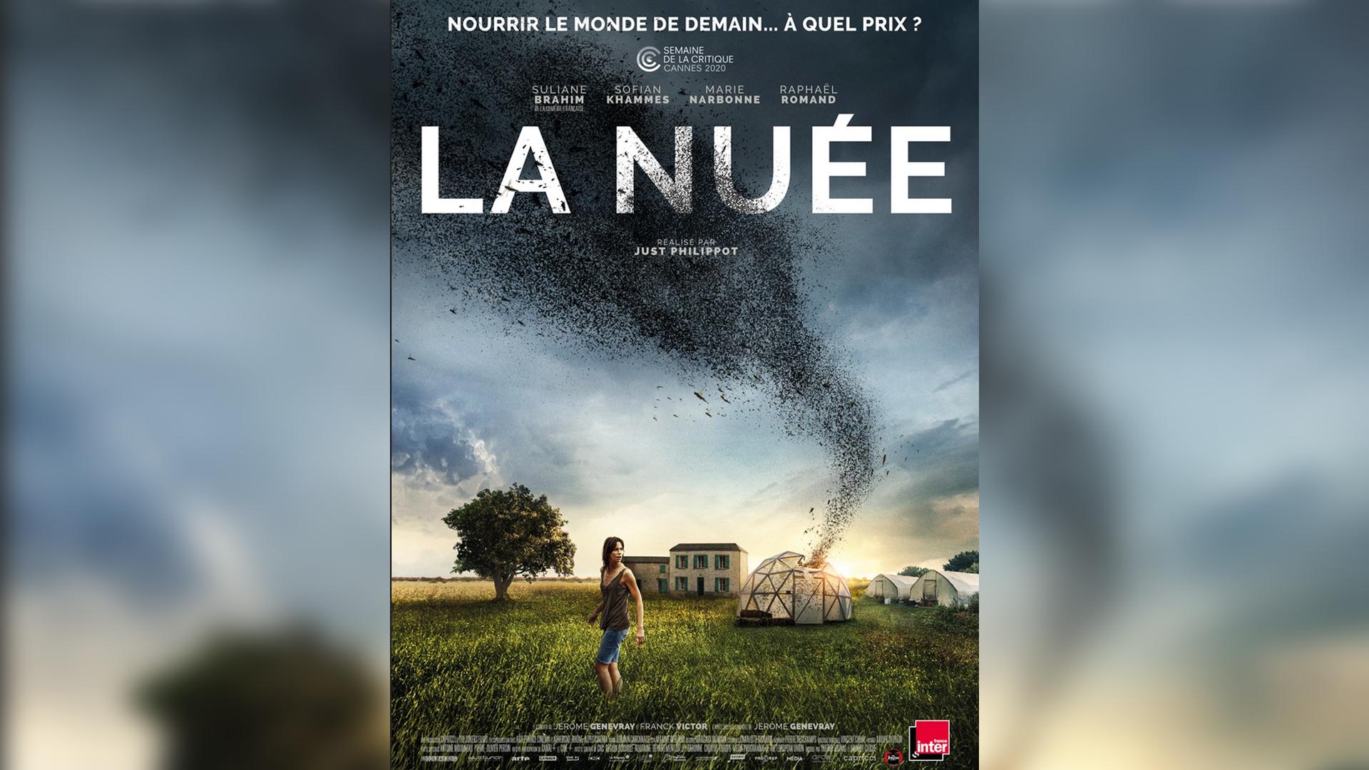 L'affiche du film «La Nuée».