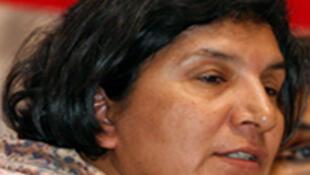 Rachida Manjoo, rapporteuse spéciale de l'Onu.