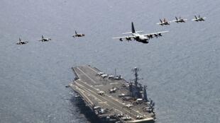 Quân đội Mỹ biểu dương lực lượng ở khu vực châu Á