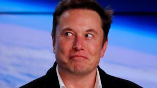 Elon Musk, ici le 2 mars 2020.