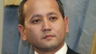 Moukhtar Abliazov, ici en 2006 à Almaty, a été arrêté par la police française près de Cannes, le 31 juillet 2013.