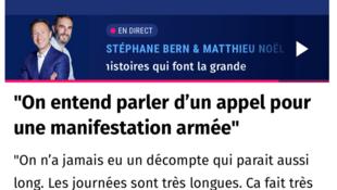 法国欧洲一台Europe1截图
