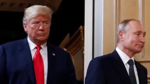 """Trump aguarda com """"impaciência"""" outra cimeira com Putin"""