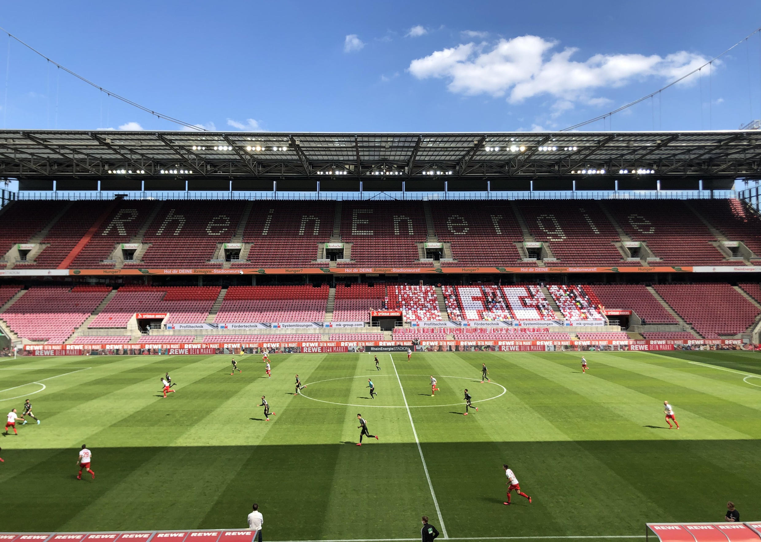 German top-tier football returned at the weekend, as several countries slowly ease up on lockdown restrictions that have battered the global economy