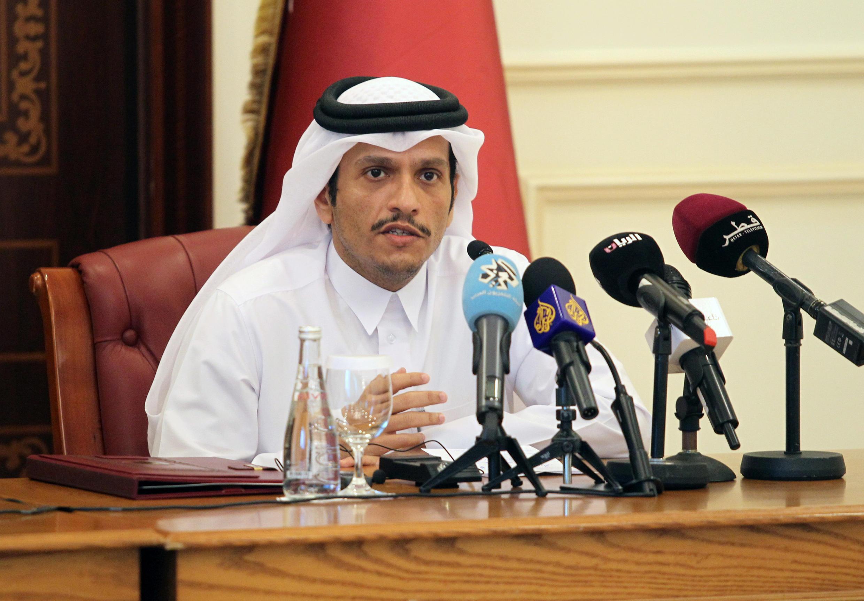 Qatar's Foreign Affairs Minister Sheikh Mohammed bin Abdulrahman al-Thani
