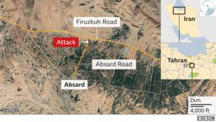 网传暗杀事件地德黑兰东部的阿布萨市(Absard)