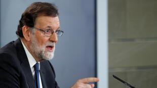 O governo do primeiro-ministro Mariano Rajoy está por um fio após a condenação de seu partido por corrupção.