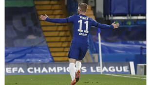 Football - Chelsea - Timo Werner - Ligue des Champions - contre Real Madrid - AP - Radio foot internationale