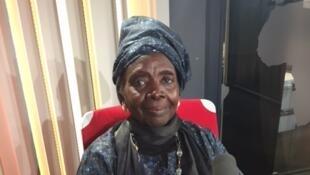Aminata Sow Fall en studio à RFI (mars 2018).