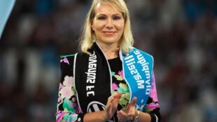 Margarita Louis-Dreyfus, actionnaire majoritaire de l'Olympique de Marseille, a confirmé la mise en vente du club, le 13 avril 2016.