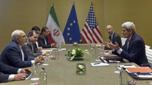 Theo giới quan sát, ít có khả năng Iran và nhóm 5+1 đạt thỏa thuận trước hạn chót 30/06/2015 - AFP / SUSAN WALSH