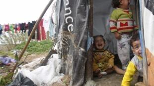 Réfugiés syriens.