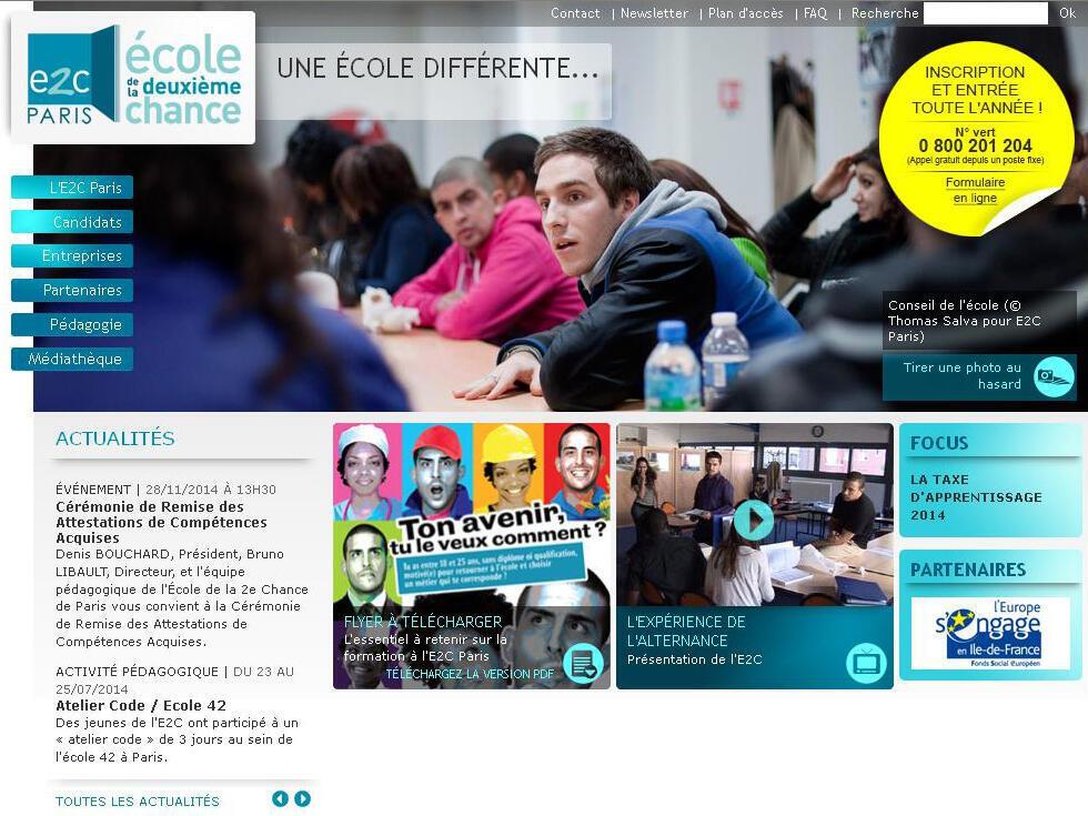 L'E2C, ou école de la deuxième chance, accueille près de 240 jeunes par an.