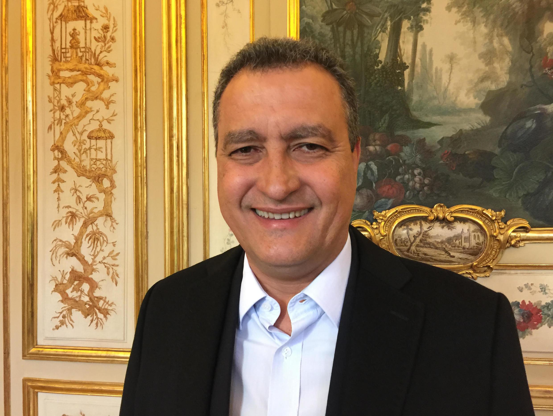 Rui Costa, governador da Bahia, na Embaixada do Brasil em Paris em 26 de outubro de 2016