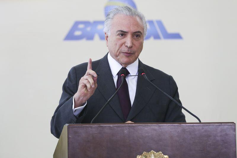 Segunda  viagem  oficial  do presidente Michel Temer ao exterior após ter assumido definitivamente a Presidência da República.
