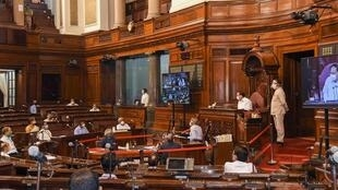 2020-09-14 india parliament monsoon session social distancing covid-19