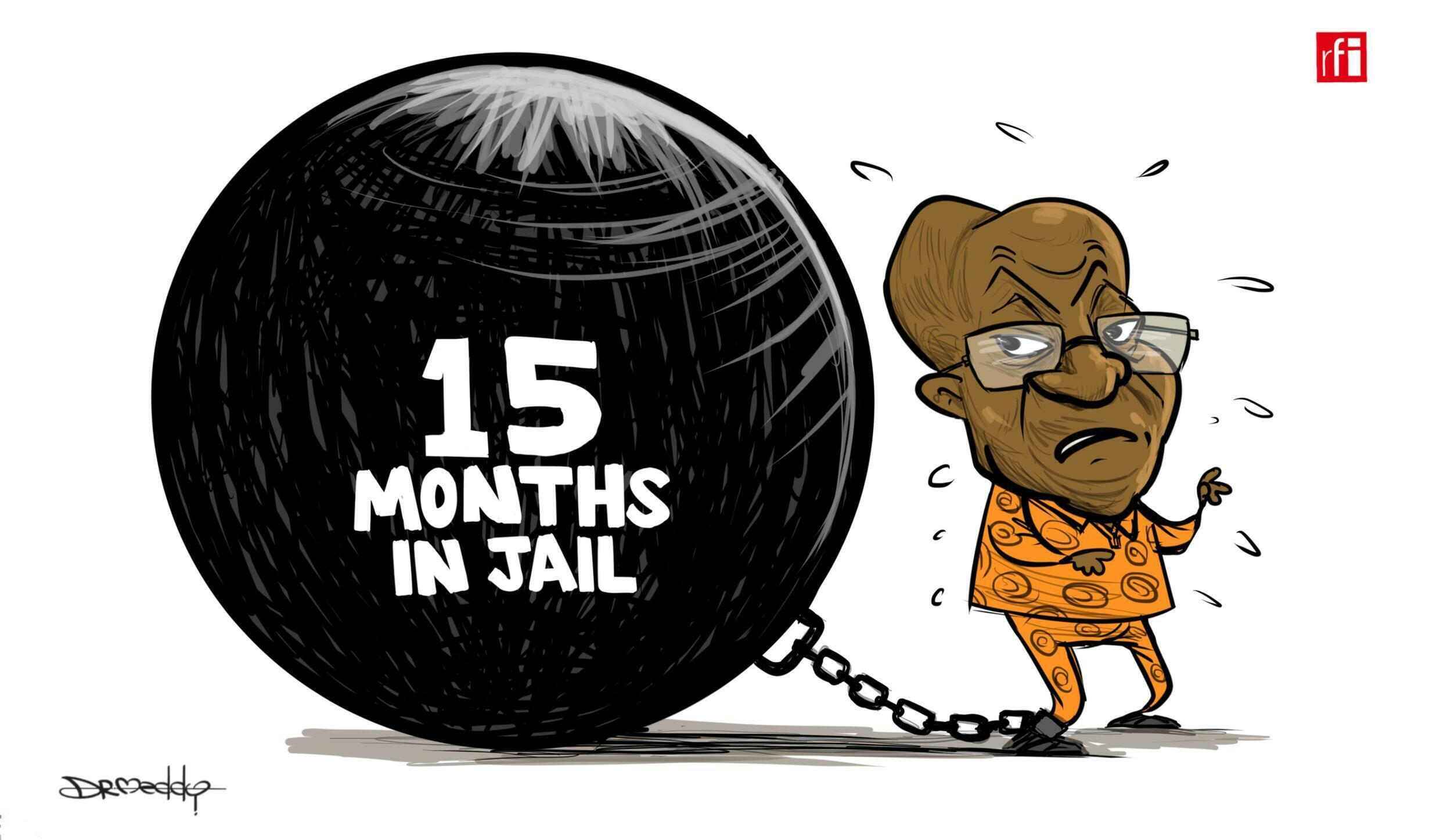 South Africa: Former President Jacob  Zuma Sentenced to 15 Months in Jail (02/07/2021)
