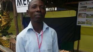 Freddy Loubaki, éleveur de volailles au quartier Mbaka de Pointe-Noire, et secrétaire général de la Maison des éleveurs du Kouilou.