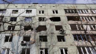 Авдеевка, 9 декабря 2014.