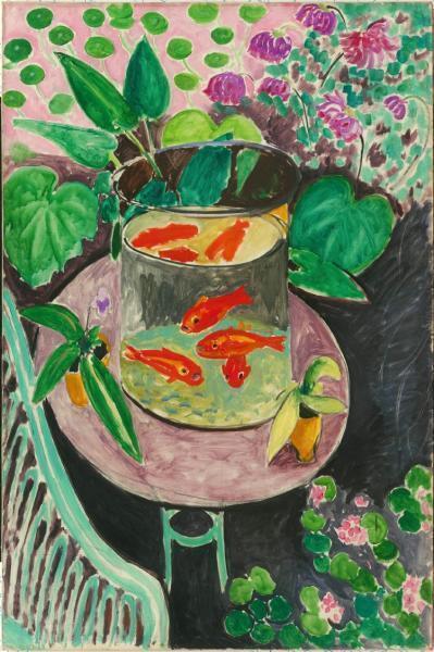Анри Матисс «Красные рыбы» («Золотые рыбки»)