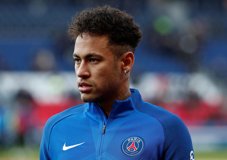 Neymar , jogador brasileiro do Paris Saint Germain