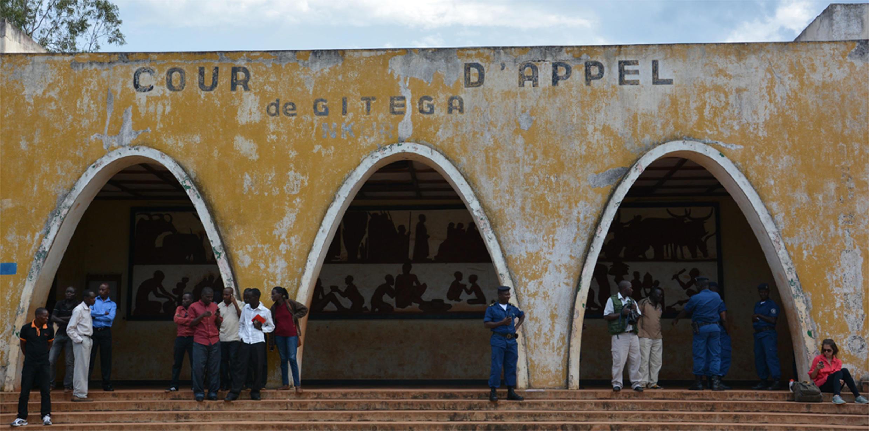 The appeal court in Gitega, as seen in January 2015.