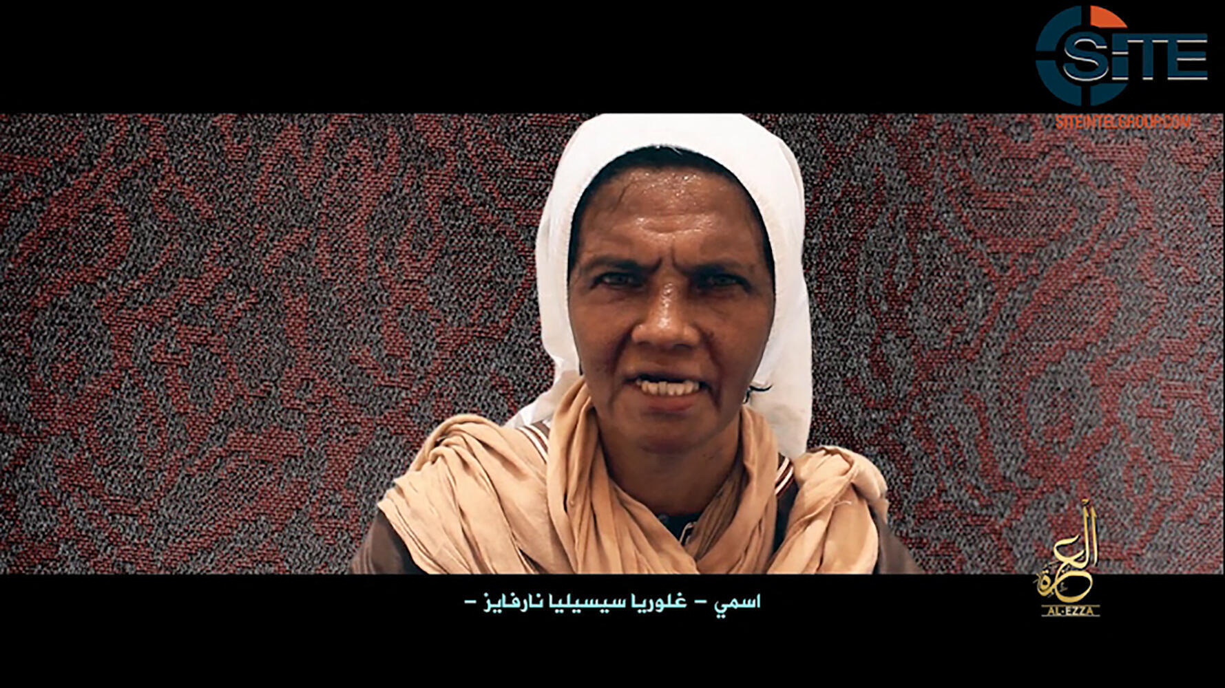 000_9PF2MH Mali libération soeur Gloria Cecilia enlevée en 2017