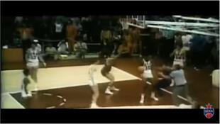 Images de la victoire de l'équipe soviétique de basket sur les Etats-Unis aux JO d'été de 1972 à Munich (capture d'écran).