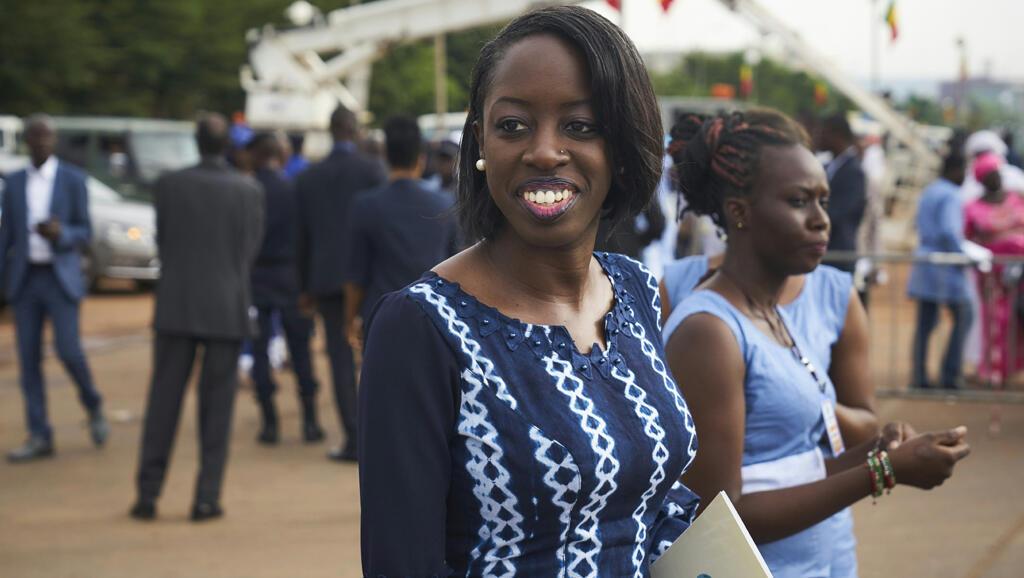 """Kamissa Camara, ministre des Affaires étrangères du Mali, est une """"repat""""."""