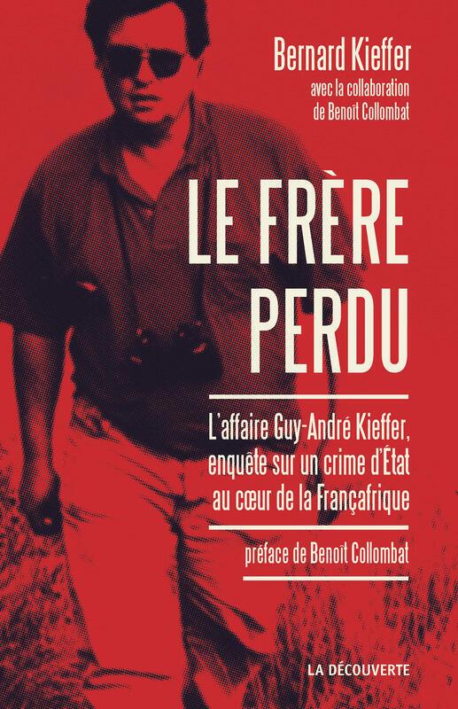 Couverture du livre de Bernard Kieffer, «Le Frère perdu».